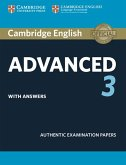 Cambridge English Advanced 3. Student's Book with answers