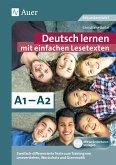 Deutsch lernen mit einfachen Lesetexten A1-A2