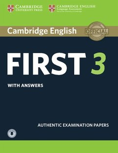 Cambridge English First 3. Student's Book with answers and downloadable audio