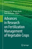 Advances in Research on Fertilization Management of Vegetable Crops (eBook, PDF)