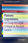 Platonic Legislations (eBook, PDF)
