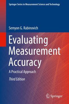 Evaluating Measurement Accuracy (eBook, PDF) - Rabinovich, Semyon G.