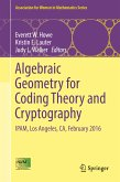 Algebraic Geometry for Coding Theory and Cryptography (eBook, PDF)