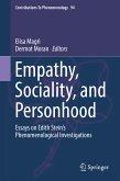Empathy, Sociality, and Personhood (eBook, PDF)
