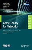 Game Theory for Networks (eBook, PDF)