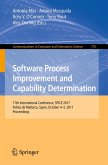 Software Process Improvement and Capability Determination (eBook, PDF)