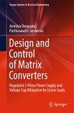 Design and Control of Matrix Converters (eBook, PDF)