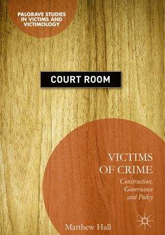 Victims of Crime (eBook, PDF) - Hall, Matthew