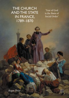 The Church and the State in France, 1789-1870 (eBook, PDF) - Price, Roger