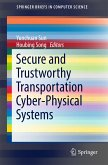 Secure and Trustworthy Transportation Cyber-Physical Systems (eBook, PDF)