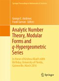 Analytic Number Theory, Modular Forms and q-Hypergeometric Series (eBook, PDF)