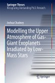 Modelling the Upper Atmosphere of Gas-Giant Exoplanets Irradiated by Low-Mass Stars (eBook, PDF)