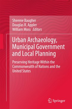 Urban Archaeology, Municipal Government and Local Planning (eBook, PDF)