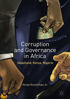 Corruption and Governance in Africa (eBook, PDF) - Hope, Sr. , Kempe Ronald
