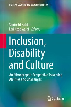 Inclusion, Disability and Culture (eBook, PDF)