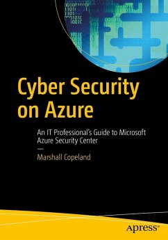 Cyber Security on Azure (eBook, PDF) - Copeland, Marshall
