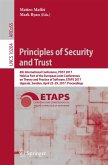 Principles of Security and Trust (eBook, PDF)