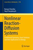 Nonlinear Reaction-Diffusion Systems (eBook, PDF)