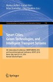 Smart Cities, Green Technologies, and Intelligent Transport Systems (eBook, PDF)