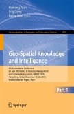 Geo-Spatial Knowledge and Intelligence (eBook, PDF)