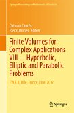 Finite Volumes for Complex Applications VIII - Hyperbolic, Elliptic and Parabolic Problems (eBook, PDF)