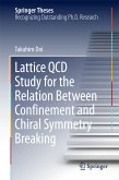 Lattice QCD Study for the Relation Between Confinement and Chiral Symmetry Breaking (eBook, PDF)