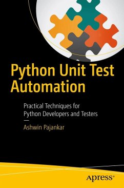 Python Unit Test Automation (eBook, PDF) - Pajankar, Ashwin