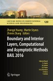 Boundary and Interior Layers, Computational and Asymptotic Methods BAIL 2016 (eBook, PDF)
