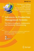 Advances in Production Management Systems. The Path to Intelligent, Collaborative and Sustainable Manufacturing (eBook, PDF)