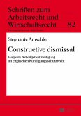 Constructive dismissal (eBook, ePUB)