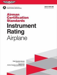 Instrument Rating Airman Certification Standard...