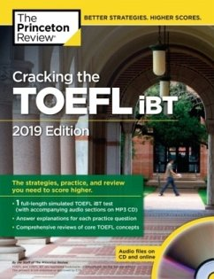 Cracking the TOEFL iBT with Audio CD, 2019 Edition - Princeton Review
