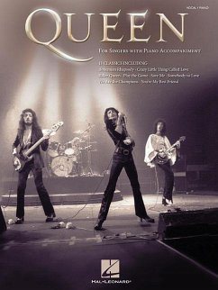 For Singers with Piano Accompaniment - Queen