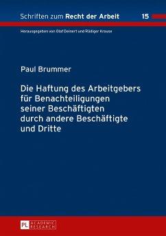 Die Haftung des Arbeitgebers fuer Benachteiligungen seiner Beschaeftigten durch andere Beschaeftigte und Dritte (eBook, ePUB) - Brummer, Paul