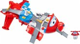 Super Wings JETT`s Takeoff Tower Flugzeug Transformer
