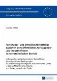 Forschungs- und Entwicklungsvertraege zwischen dem oeffentlichen Auftraggeber und Industriefirmen im wehrtechnischen Bereich (eBook, ePUB)