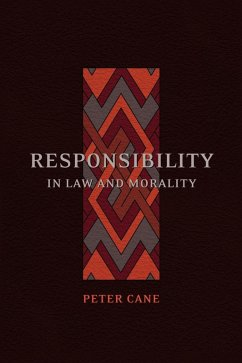 Responsibility in Law and Morality (eBook, PDF) - Cane, Peter