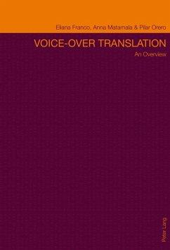 Voice-over Translation (eBook, PDF) - Franco, Eliana P. C.
