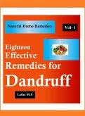 Eighteen Effective Remedies for Dandruff (eBook, ePUB)