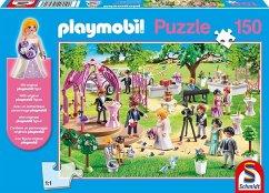 schmidt 56271 - playmobil, hochzeit, puzzle, eine figur