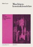 Maschinenkonstruktionslehre (eBook, PDF)