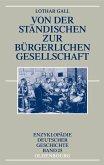 Von der ständischen zur bürgerlichen Gesellschaft (eBook, PDF)