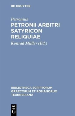 Petronii Arbitri Satyricon reliquiae (eBook, PDF) - Petronius