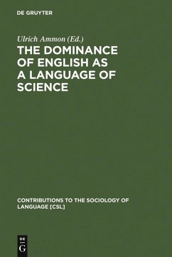 The Dominance of English as a Language of Science (eBook, PDF)