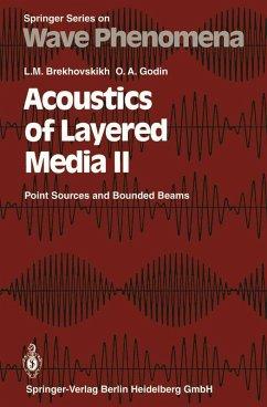 Acoustics of Layered Media II (eBook, PDF) - Brekhovskikh, Leonid M.; Godin, Oleg A.