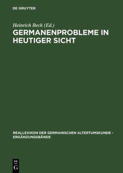 Germanenprobleme in heutiger Sicht (eBook, PDF)