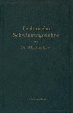 Technische Schwingungslehre (eBook, PDF) - Hort, Wilhelm