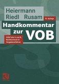 Handkommentar zur VOB (eBook, PDF)