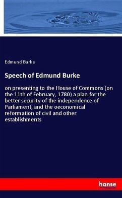 Speech of Edmund Burke