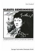Kleists Geheimnisse (eBook, PDF)